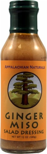 Appalachian Naturals  Salad Dressing Gluten Free   Ginger Miso Perspective: front