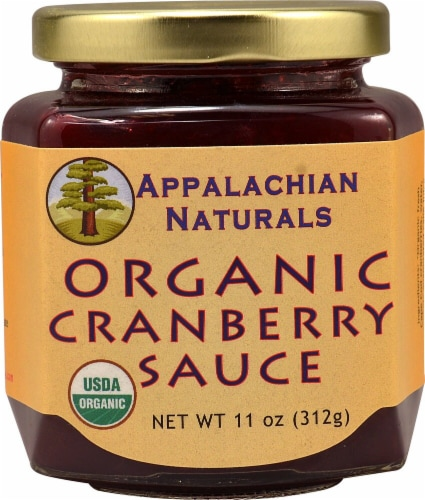 Appalachian Naturals  Organic Cranberry Sauce Perspective: front
