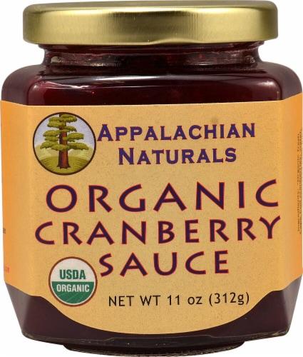Appalachian Naturals  Organic Cranberry Sauce Perspective: front
