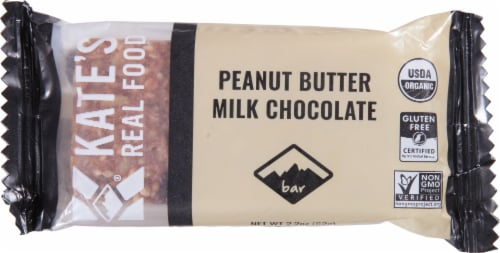 Kate's Real Food - Bar Tram Peanut Butter Milk Cho - Case of 12 - 2.2 OZ Perspective: front