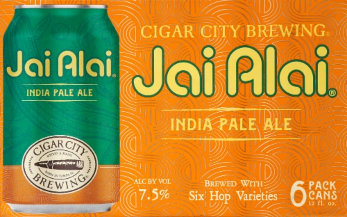 Cigar City Brewing Jai Alai India Pale Ale Perspective: front