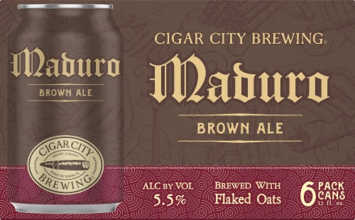 Cigar City Brewing Maduro Brown Ale Perspective: front