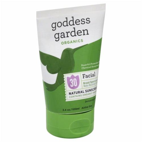 Goddess Garden Organics Facial Protection Natural Sunscreen SPF 30 Perspective: front