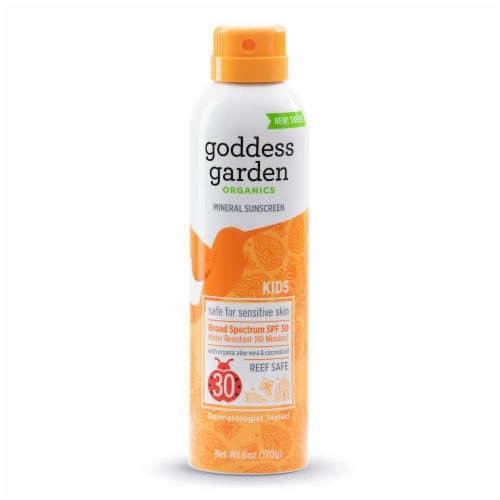 Goddess Garden Organics Sunscreen SPF 30 Perspective: front