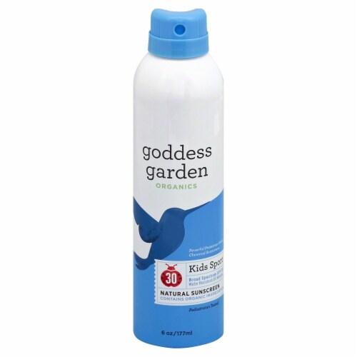 Goddess Garden Organics Kids Sport Sunscreen Spray SPF 30 Perspective: front