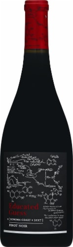 Educated Guess Pinot Noir Red Wine Perspective: front