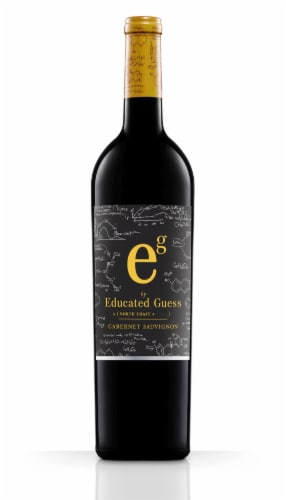 Educated Guess North Coast Cabernet Sauvignon Perspective: front