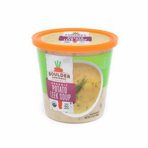 Boulder Organic Potato Leek Soup Perspective: front
