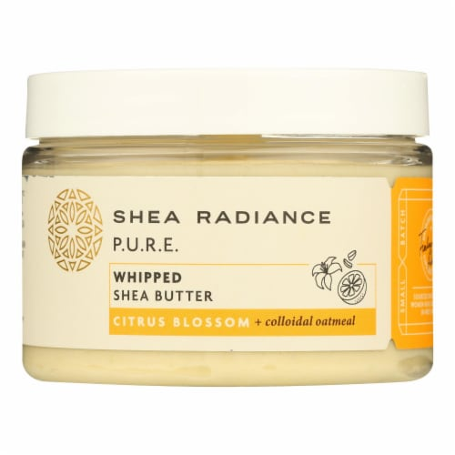 Shea Radiance - Shea Butter Whipped Cit Blossom - 1 Each - 7 OZ Perspective: front