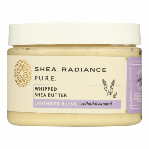 Shea Radiance - Shea Butter Whipped Lavender Bliss - 1 Each - 7 OZ Perspective: front