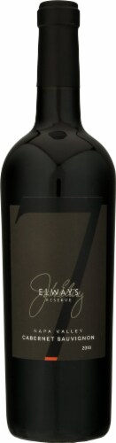 Elway's Reserve Cabernet Sauvignon Red Wine Perspective: front