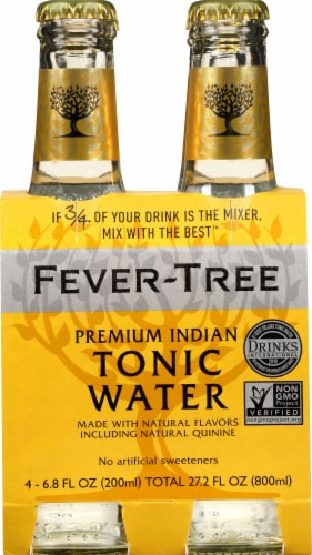 Fever-Tree Premium Indian Tonic Water Perspective: front