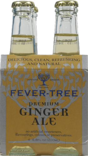 Fever Tree Ginger Ale Perspective: front