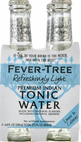 Fever-Tree Refreshingly Light Indian Tonic Water Perspective: front