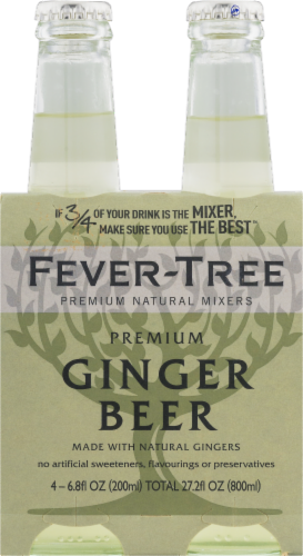 Fever-Tree Premium Ginger Beer Perspective: front