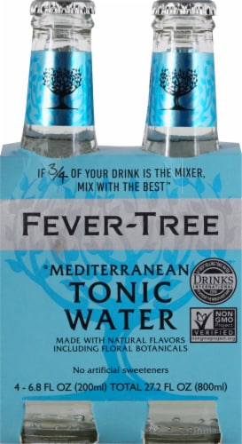 Fever-Tree Mediterranean Tonic Water Perspective: front