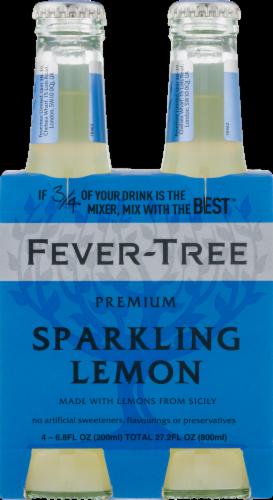 Fever-Tree Sparkling Lemon Soda Perspective: front