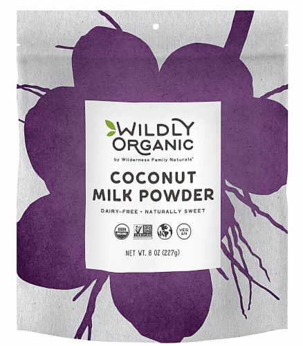 Wildly Organic  Coconut Milk Powder Perspective: front