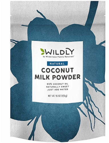 Wildly Organic  Natural Coconut Milk Powder Perspective: front