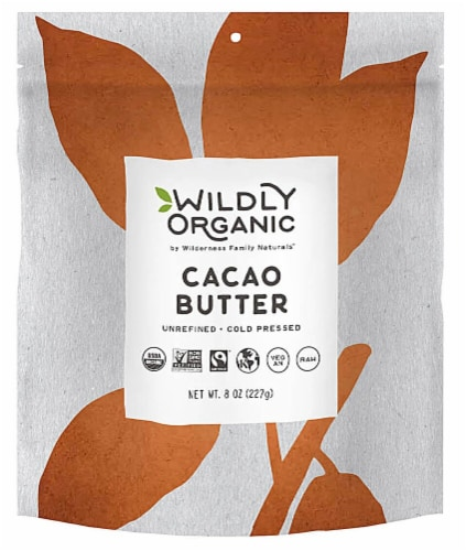 Wildly Organic  Cacao Butter Perspective: front