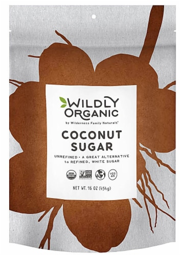 Wildly Organic  Coconut Sugar Perspective: front