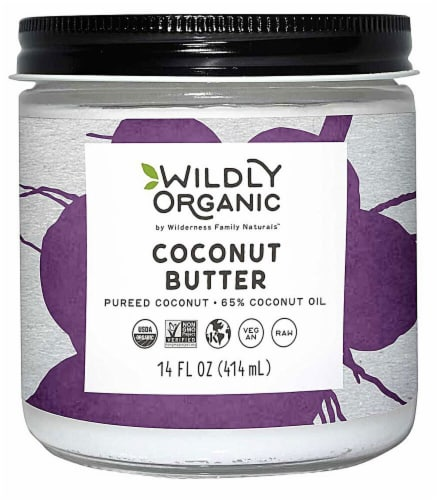 Wildly Organic  Coconut Butter Perspective: front