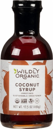 Wildly Organic  Coconut Syrup Perspective: front