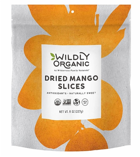 Wildly Organic  Dried Mango Slices Perspective: front