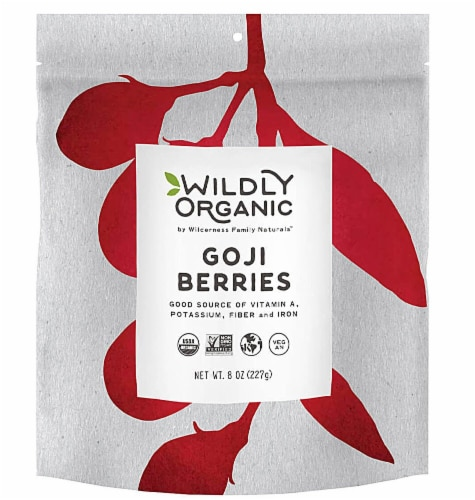 Wildly Organic  Goji Berries Perspective: front