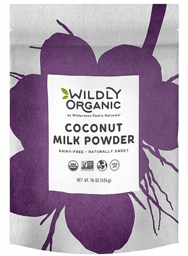 Wildly Organic  Coconut Milk Powder Perspective: front