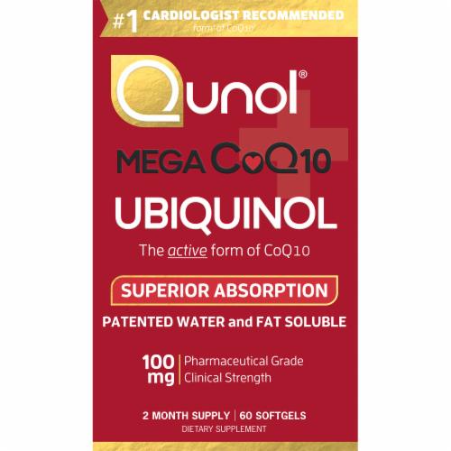 Qunol  Mega CoQ10 Perspective: front