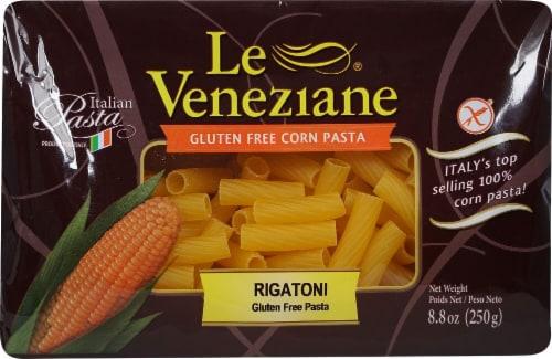 Le Veneziane Gluten Free Rigatoni Corn Pasta Perspective: front