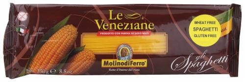 Le Veneziane Gluten Free Spaghetti Corn Pasta Perspective: front