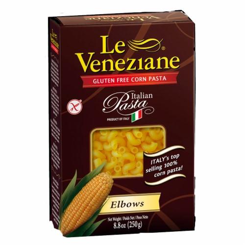Le Veneziane Gluten Free Elbows Corn Pasta Perspective: front