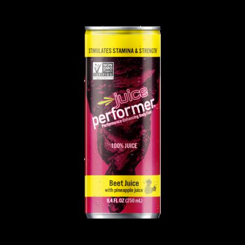 Juice Performer Beet Juice with Pineapple Juice Perspective: front