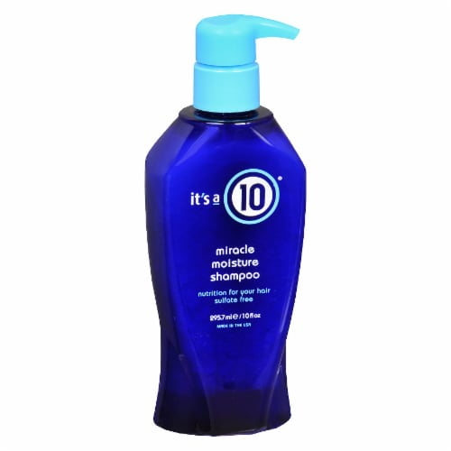 It's a 10 Miracle Moisture Shampoo Perspective: front