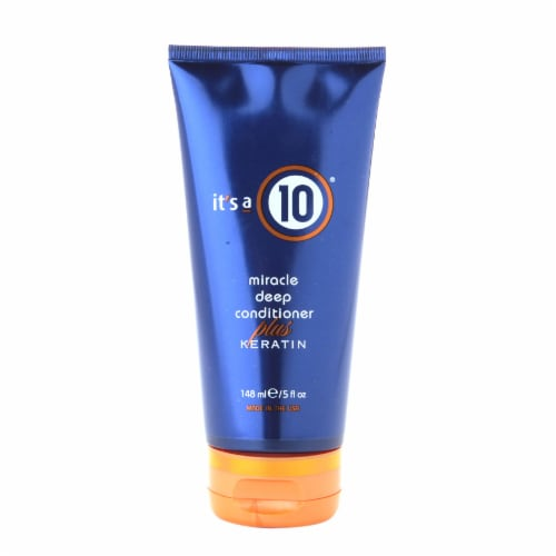 It's a 10 Miracle Deep Conditioner Plus Keratin Perspective: front