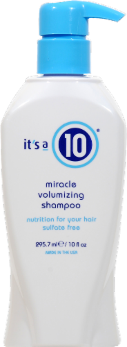 It's a 10 Miracle Volumizing Shampoo Perspective: front