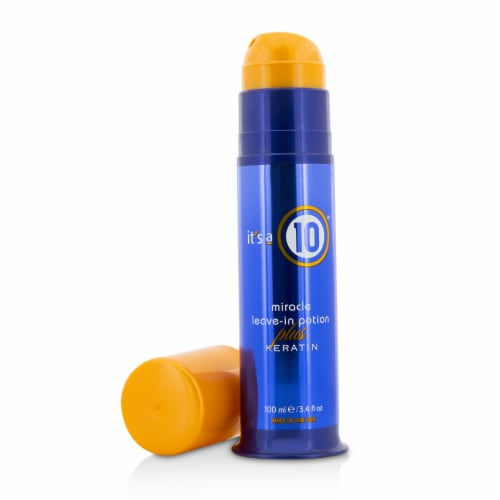 It's A 10 Miracle LeaveIn Potion Plus Keratin 100ml/3.4oz Perspective: front