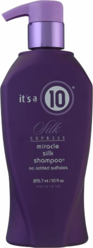 It's a 10 Silk Express Shampoo Perspective: front