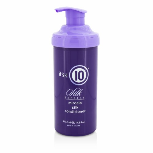 It's A 10 Silk Express Miracle Silk Conditioner 517.5ml/17.5oz Perspective: front