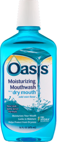 Oasis Moisturizing Mouthwash Perspective: front