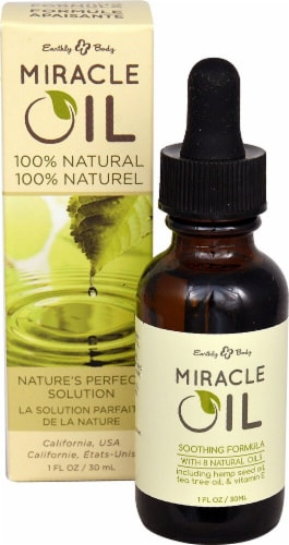 Earthly Body  Miracle Oil Perspective: front