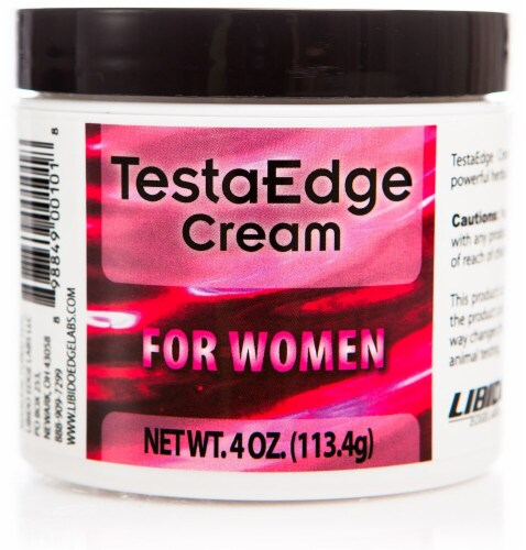 Libido Edge Labs  TestaEdge Cream for Women Jar Perspective: front