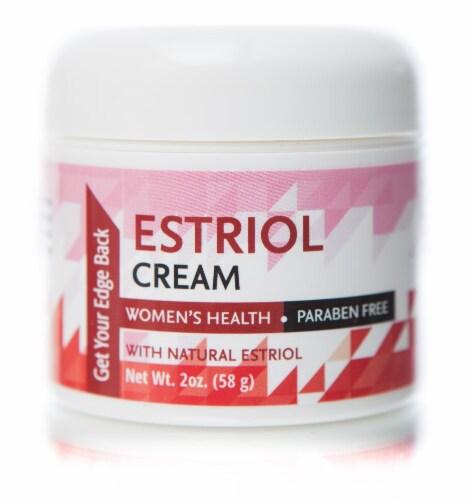 Libido Edge Labs  Women Estriol Cream Jar Perspective: front