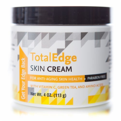 Libido Edge Labs  Total Edge Skin Cream Jar Perspective: front