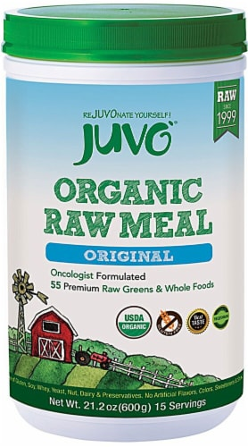 Juvo  Organic Raw Meal   Original Perspective: front