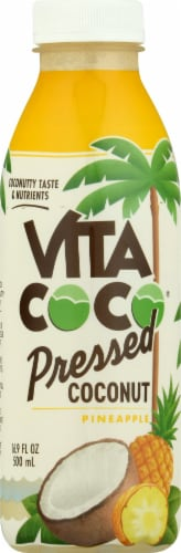 Vita Coco Pineapple Pressed Coconut Water Perspective: front