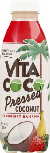 Vita Coco Strawberry Banana Pressed Coconut Water Perspective: front