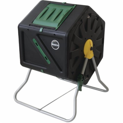 Miracle-Gro Tumbling Composter (28-Gallon) C1105MG Perspective: front